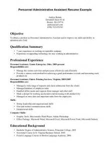 administrative assistant resume objective exles
