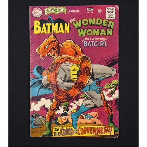 Comic Book 12 4024 vintage batman batgirl d c comic book