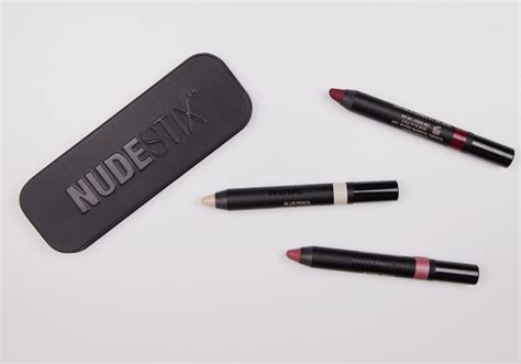 Nudestix Lip Cheek Kit nudestix matte lip cheek pencil purity review swatches