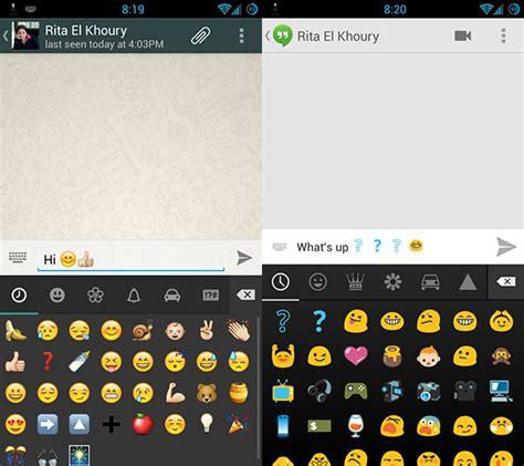 cara menggunakan emoji di android top android apps