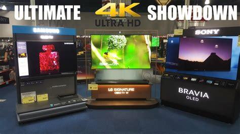 samsung vs lg tv the ultimate 4k tv showdown samsung vs lg vs sony