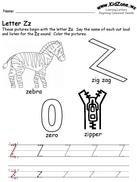 Letter Z free coloring pages of letter z worksheet