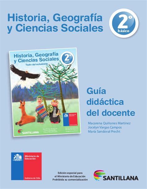 descargar libros del ministerio de educacion 2014 chile 2 b historia santillana p