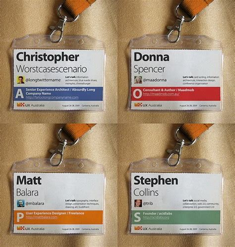 Event Name Tag Template 11 best name badges images on conference