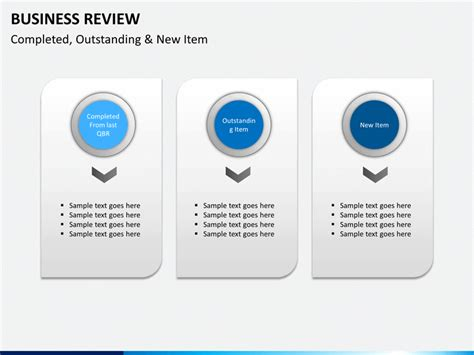 powerpoint templates for business review business review powerpoint template sketchbubble