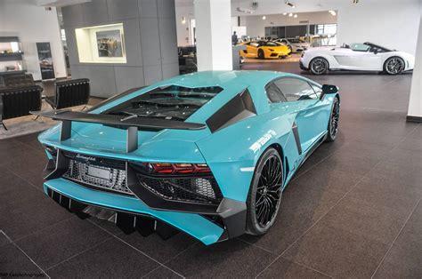 Baby Blue Lamborghini Aventador Unique Glauco Lamborghini Aventador Sv Gtspirit