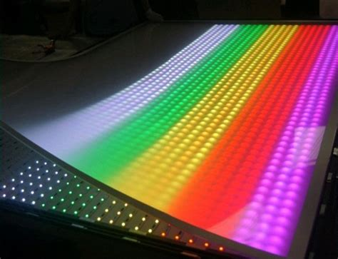 programmable led light box advertising