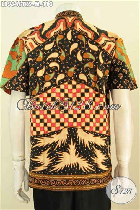 Hem Kerah Koko Batik Katun hem batik koko kerah shanghai mewah non furing model