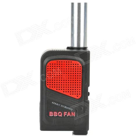 barbecue fan air blower outdoor bbq barbecue fan air blower black red free