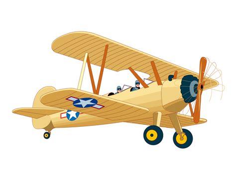 clip plane vintage airplane clipart clipart suggest