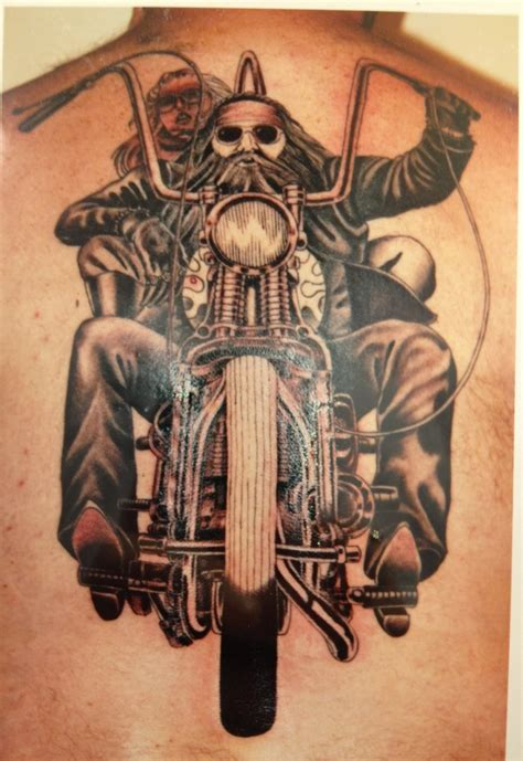 motorcycle tattoos biker motorcycle tattoos