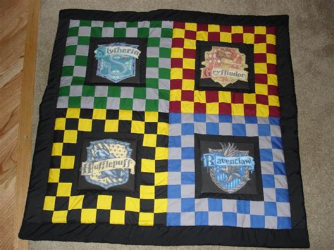 Harry Potter Quilt by The Harry Potter Quilt By Fakexaxsmile On Deviantart