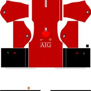 manchester united kits 2008/2009 dream league soccer