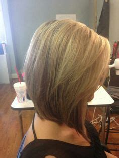 shoulder length stacked bob haircuts medium stacked hairstyle hair pinterest
