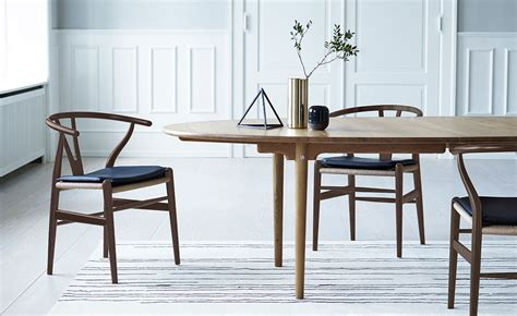Ch24 Wishbone Chair Wood Hivemodern Com