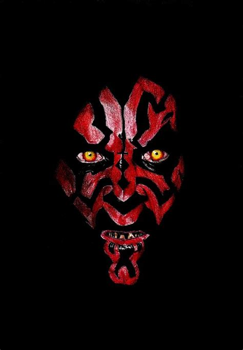 darth maul paint template darth maul from wars drawing by kohdai kitano