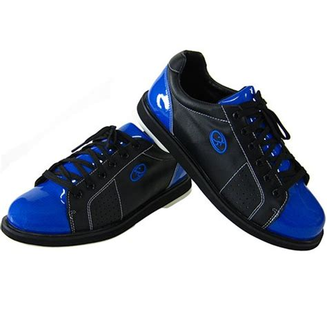 Tritan Black Blue elite mens triton black blue bowling shoes free shipping