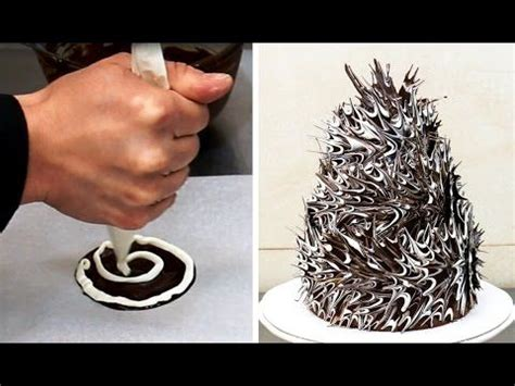 How To Make Chocolate Decorations by Tasty Chocolate Lace Cake Recipes On Chocolate