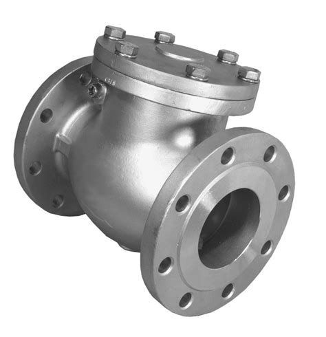 swing valve integral process check valves