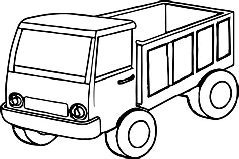 coloring book pages truck truck color book pages kid truck coloring pages