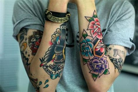 colour tattoo sleeve designs 100 glowing color designs to ink