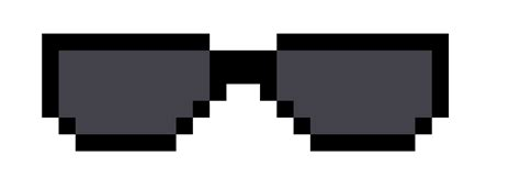 Pixel Sunglasses Meme - sandi pointe virtual library of collections