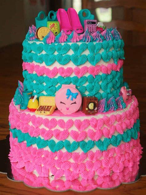 shopkins birthday cake   baker