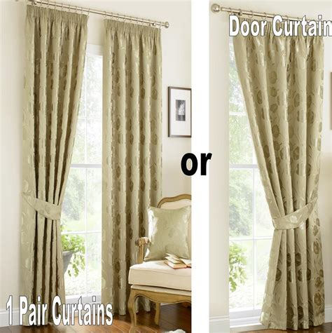Green And Gold Curtains Vintage Linby Pencil Pleat Lined Curtains Green Gold Ivory Mauve Damask Ebay