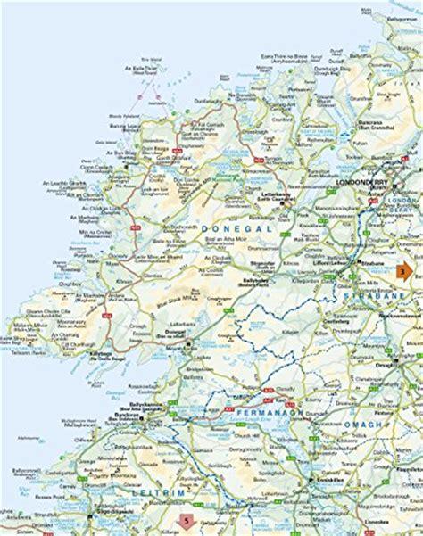 0008270333 comprehensive road atlas ireland collins handy road map ireland collins maps harpercollins