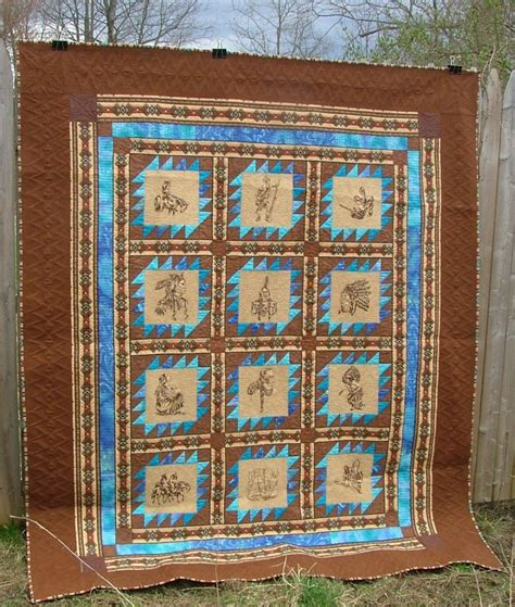 Indian Quilt by American Bed Quilt Advanced Embroidery Designs