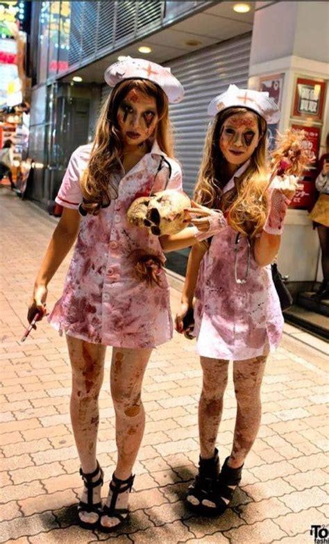 chic zombie costumes  dominate halloween brit