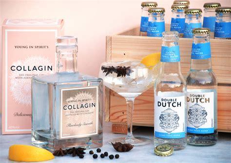 Box Collagen Sinensa Original Terlaris collagen distilled gin with limited edition box by collagin notonthehighstreet