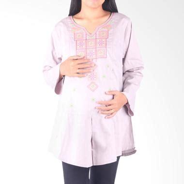 hmill 1564 blouse baju abu jual hmill 1593 baju menyusui abu harga