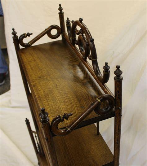 Self Standing Shelf by Bargain S Antiques 187 Archive Antique Oak Stick