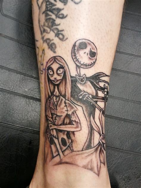 jack skellington and sally tattoos and sally by vanzanto on deviantart