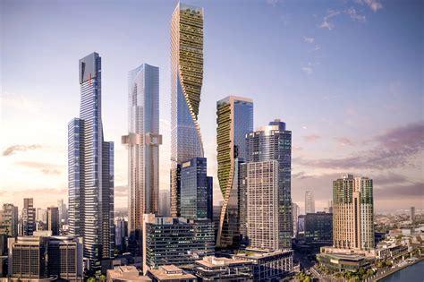 green spine architect magazine unstudio melbourne australia mixed   construction