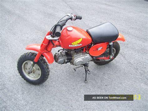 Honda Mini Motorcycle by Vintage 1981 Honda Z50 Mini Bike Dirt Trail Starter Kid Bike