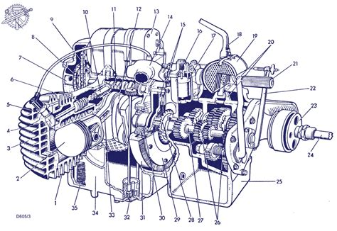 doodle engine bmw r71 engine mechanical drawings