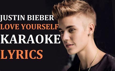 download mp3 free love yourself baby justin bieber karaoke download