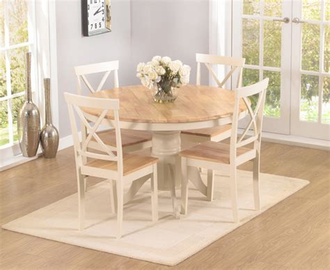 Oval Pedestal Dining Room Table Epsom Cream 120cm Round Pedestal Dining Table Set With