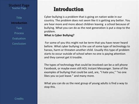 thesis statement on social media bullying essay on cyber bullying conclusion
