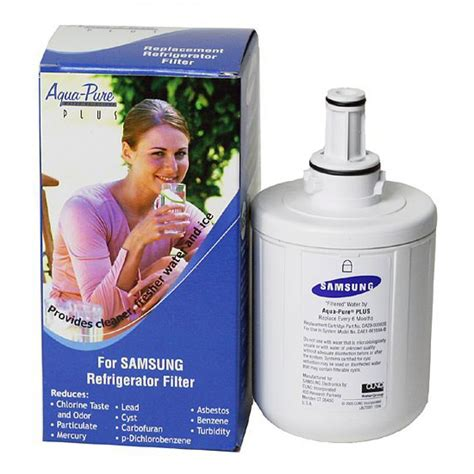 da29 00003b samsung aqua plus refrigerator water filter