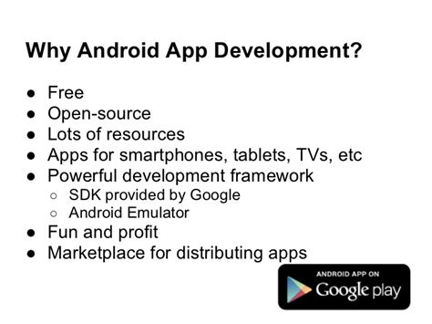 Why Android Is Open Source by Why Go Into Android Apps Development