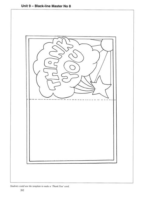 thank you card templates for pages thank you card coloring pages thank you cards 14 color