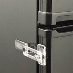 Cabinet Latches Baby Clear Or White Fridge Guard Refrigerator Door Latch Baby