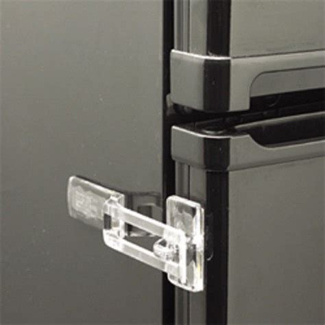 clear or white fridge guard refrigerator door latch baby