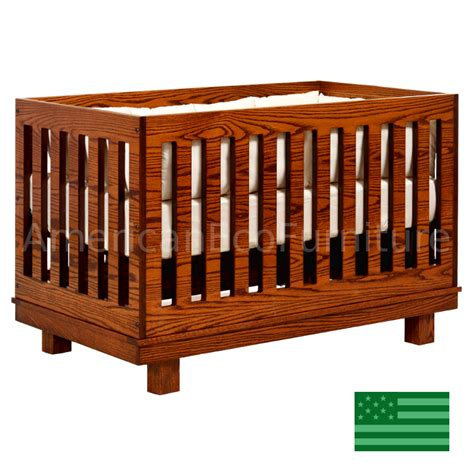 Usa Baby Cribs Soho Convertible Baby Crib Made In Usa American Eco Furniture