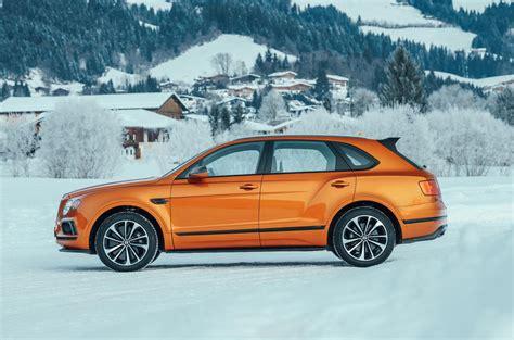 orange bentley bentayga bentley bentayga v8 2018 review autocar