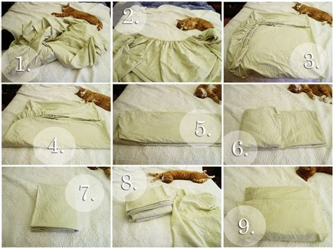 Folding Bed Sheets Folding Bed Sheets The Complete Guide To Imperfect Homemaking 4 Ways To Fold Bedsheets The