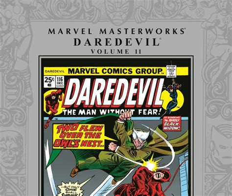 marvel masterworks the vol 11 books marvel masterworks daredevil vol 11 hardcover comic